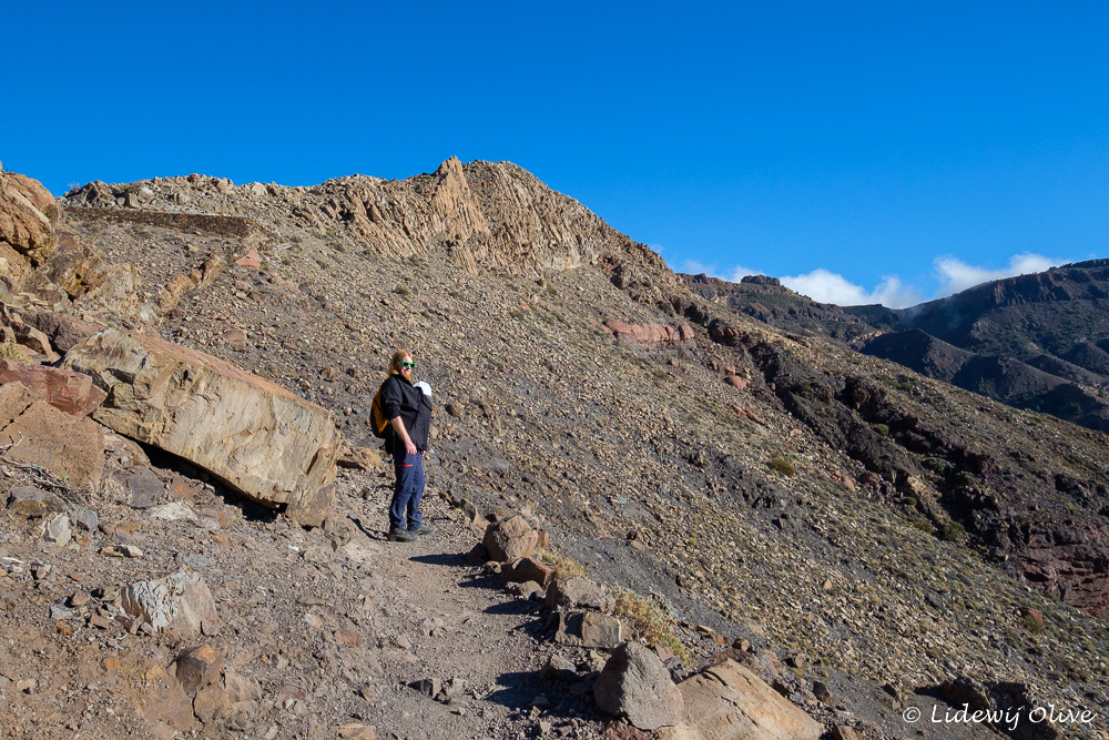 El Teide hikingwith a baby