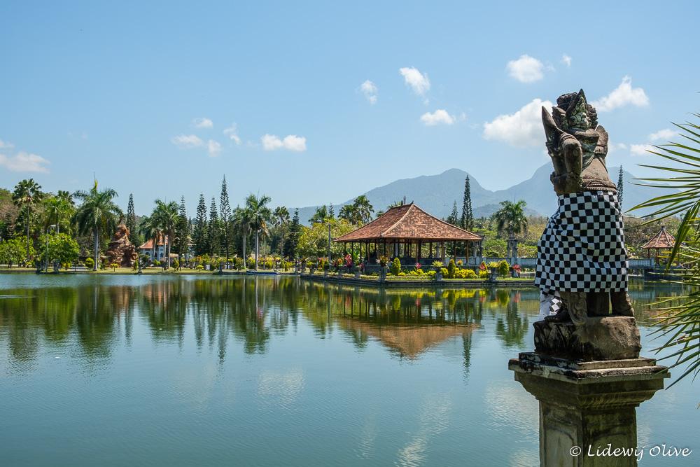 Pretty water palace