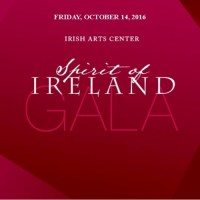 Invitation to Spirit of Ireland Gala 2016 and Raffle to Meet Gabriel Byrne!
