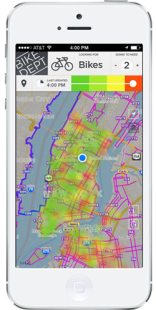 App Heatmap View