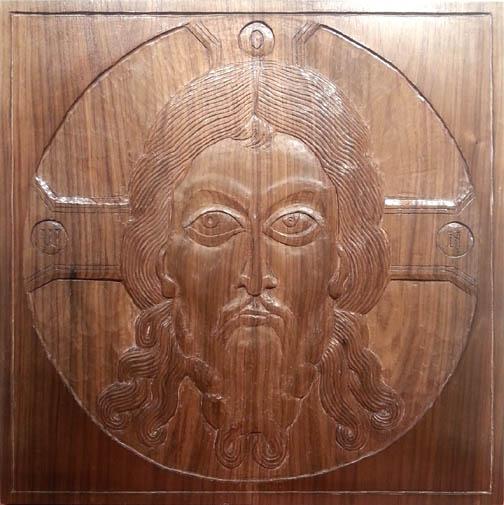 carved by Richard Christin