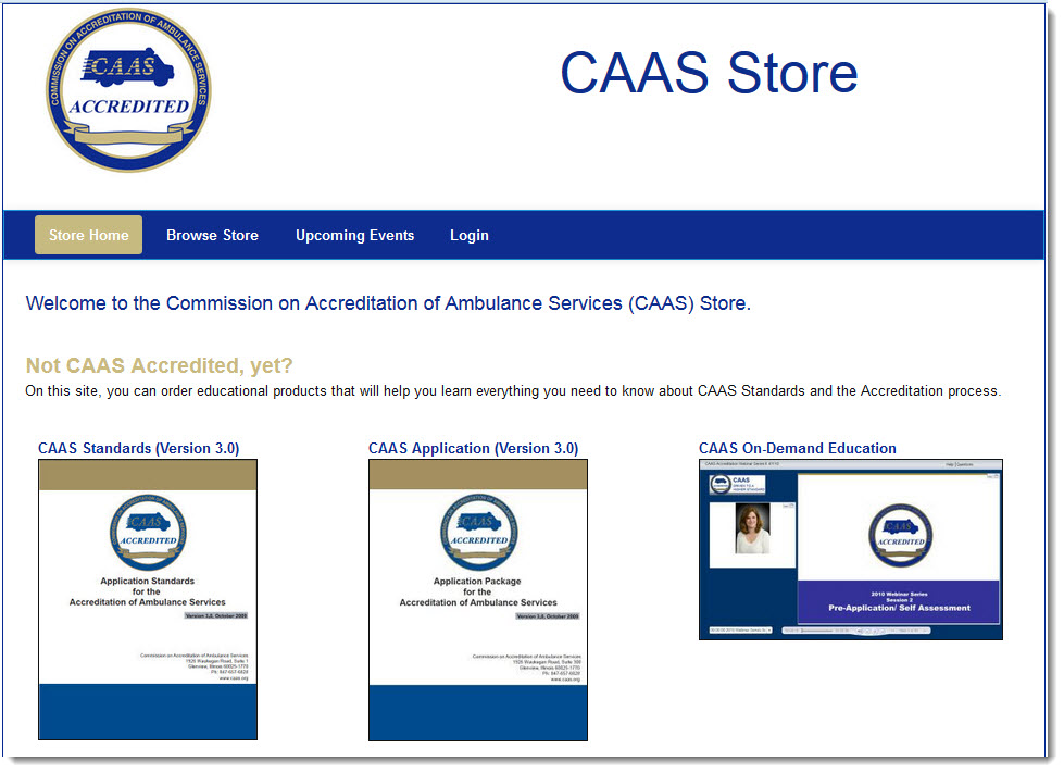 CAAS Store with Shadow