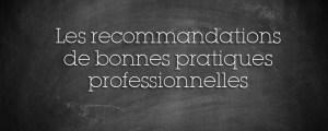 Cabinet DSI recommandations de bonnes pratiques professionnelles réglementation ESSMS
