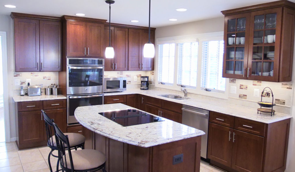 classic style makeover in chantilly kitchen remodeling atlanta ga