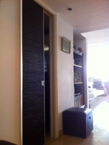 Sliding leather door studio 225x300 Sharing Solutions...