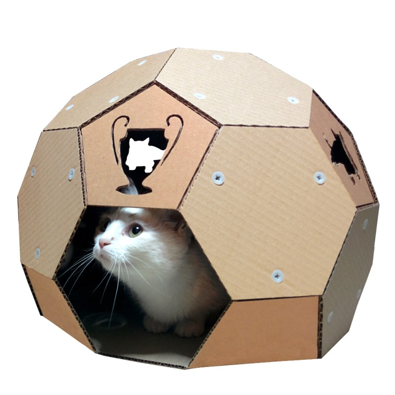 Large Of Cardboard Cat House