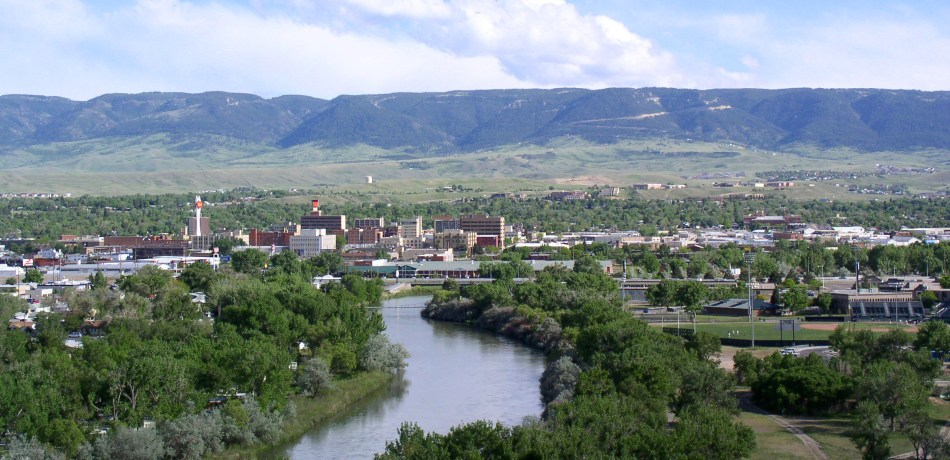 Casper Wyoming from the Event Center