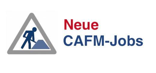 Aktuelle Jobs für CAFM - Neue Stellenangebote für CAFM