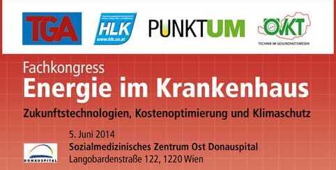 Am 5. Juni geht es in Wien um die Möglichkeiten für Kliniken, Energie einzusparen.