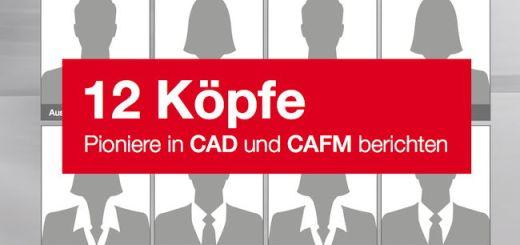 """In der neuen Serie """"12 Köpfe. Pioniere in CAD und CAFM berichten"""" zeigen pit-cup-Anwender den Nutzen ihres CAFM-Systems"""