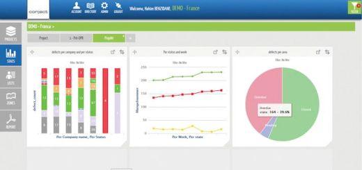 Mit conject MI bietet conject jetzt eine mobile App für das komplette Mängel-Management an