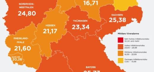 Karte der Cyberbedrohung in Deutschland im Q2-2014; Kaspersky Lab