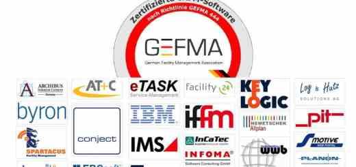 Fast zwei Dutzend voll: aktuell sind 22 CAFM-Systeme nach Gefma 444 zertifiziert