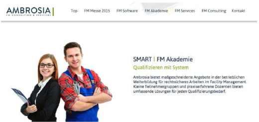Mit der Smart FM Akademie erweitert Consultant Ambrosia FM sein Angebot um Schulungen und Seminare