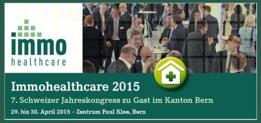 Die Kongressmesse Immohealthcare 2015 findet am 29. und 30. April in Bern statt