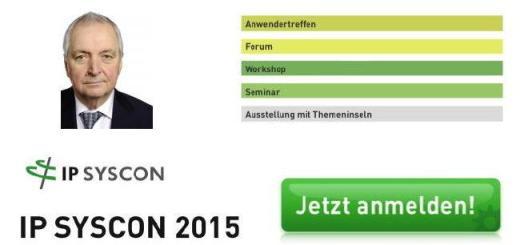 Prof. Klaus Töpfer ist Keynote-Speaker auf der IP System 2015 Konferenz zu GIS und CAFM im März in Hannover