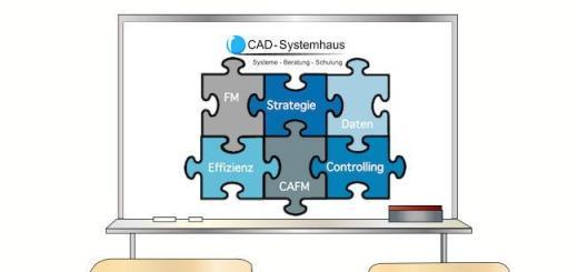Das CAD-Systemhaus bietet im Mai einen dreitägigen Kursus rund um FM und CAFM an