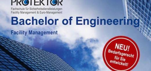 Die Fachschule Protektor hat einen neuen berufsbegleitenden Studiengang Bachelor Engineering FM gestartet