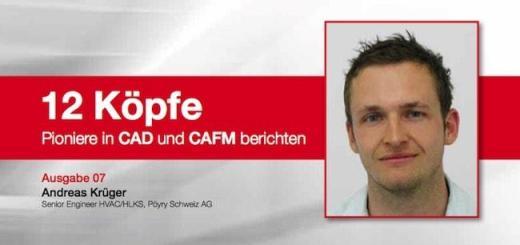 """Andreas Krüger von Pyöry Schweiz - Teil sieben der pit-cup Reihe """"12 Köpfe. Pioniere in CAD und CAFM berichten"""""""