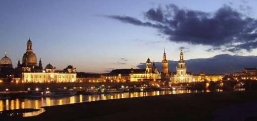 Dresden in Abendstimmung - eine Option für den Ausklang des GEBman Anwendertreffens im Juni - Foto: MalteF