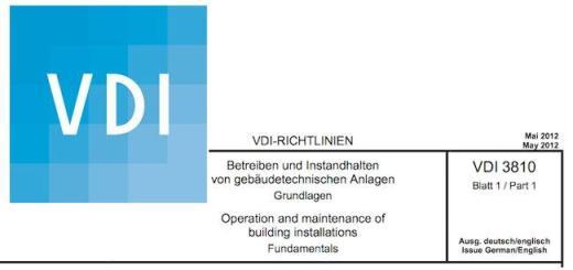 Mit der Richtlinien-Reihe 3810 hat der VDI insgesamt sechs recht aktuelle Papiere zur Betreiberverantwortung im Angebot