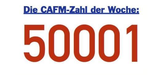Die CAFM-Zahl der Woche ist dieses Mal die 50001 - für die DIN EN ISO 50001 für die Ausgestaltung eines Energiemanagement-Systems