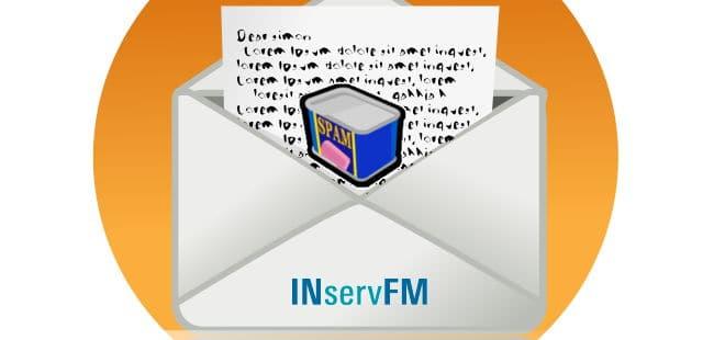 einfach löschen: Aktuell ist eine Spam-Mail mit Bezug zu einer INservFM 2014 unterwegs