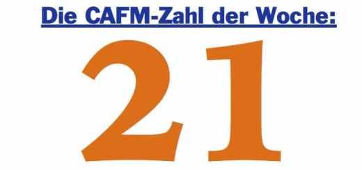 Die CAFM-Zahl der Woche ist die 21– für 21 Prozent Flächenoptimierung bei einer Kommune