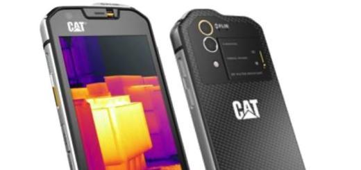 Das CAT S60 integriert als erstes Smartphone eine Wärmebildkamera
