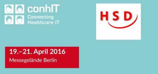 HSD stellt vom 19. bis 21. April auf der conhIT in Berlin aus