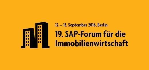 Digitalisierung im Immobilien-Management ist das Thema des 19. SAP-Forum für die Immobilienwirtschaft im September