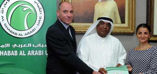 Der Fußball-Verein Al Shabab Al Arabi aus der 1. Liga in Dubai arbeitet jetzt mit IMSWARE.GO!