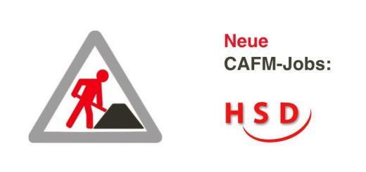 HSD sucht aktuell auch einen Projektmanager CAFM