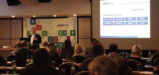 Auf dem IMSWARE Anwendertreffen 2016 gibt es wieder zahlreiche Vorträge zu strategischen und praxisorientierten Themen