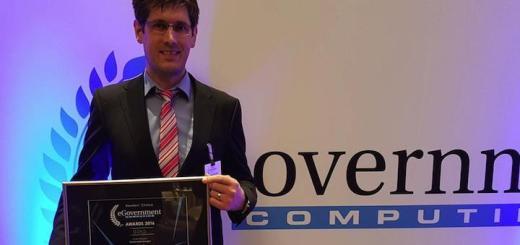 Gold für Kolibri: Die CAFM-Software aus Gilching siegte in der diesjährigen Leserbefragung der Fachzeitung eGovernment Computing