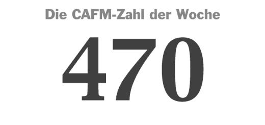 Die CAFM-Zahl der Woche ist dieses Mal die 470 für die GEFMA 470 zum Thema Datenaustausch im FM