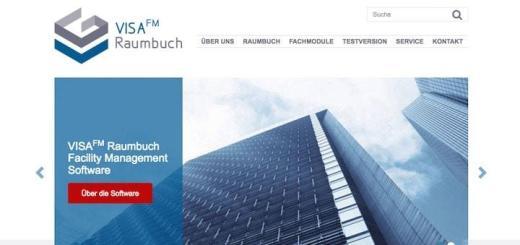 GIS Project hat seiner CAFM-Software VisaFM eine neue Website spendiert