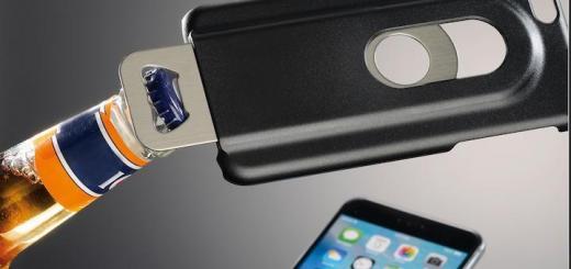 Klappt auch mit Bionade, allerdings nicht so wie auf dem Bild: Der Flaschenöffner-iPhone Hülle von Hama als Helfer in der Not