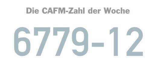 Die CAFM-Zahl der Woche ist die 6779-12, die DIN für die Kennzeichnung von Gebäuden und ihrer technischen Ausrüstung