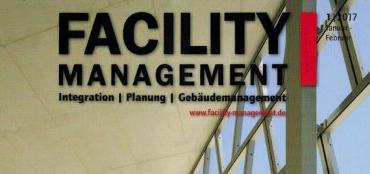 BIM, Energiemanagment, Zutrittskontrolle, Datacenter INservFM 2017 – das neue Heft der Facility Management ist äußerst vielfältig