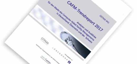 GEFMA und Lünendonk stellten auf der INservFM 2017 den CAFM-Trendreport 2017 vor – auch GEFMA 945 genannt