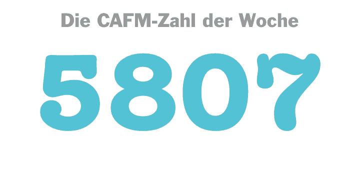 Die CAFM-Zahl der Woche ist die 5807, mit der die ISO für Programmablaufpläne beziffert ist