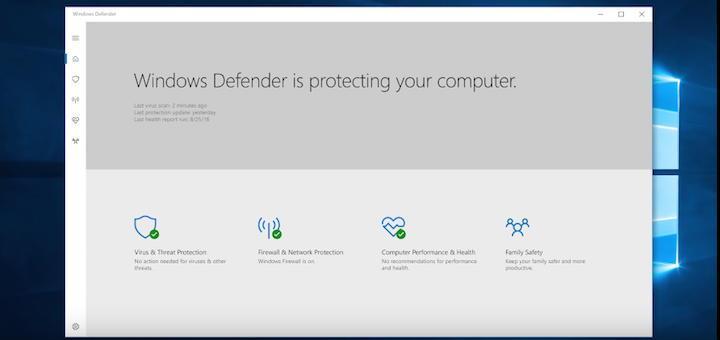 58 Prozent weniger  Angriffe und mehr Datenschutz und Privatsphäre – das Creators-Update von Windows 10 macht ernst mit dem Schutz-Versprechen von Windows Defender
