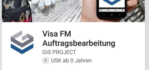 Mit der neuen App für Visa FM lassen sich Aufträge mobil abrufen und abarbeiten
