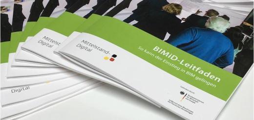 Praxisbeispiele zu BIM aus Deutschland finden sich im BIMiD-Leitfaden, der jetzt vorbestellt werden kann