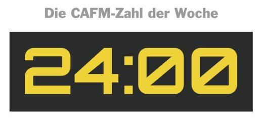 Die CAFM-Zahl der Woche ist die 24, denn so viele Stunden benötigte ein russisches Unternehmen, um ein Haus im 3D-Druck zu bauen