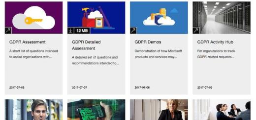 Microsoft hat diverse Material zur kommenden europäischen Datenschutz-Verordnung DSGVO für seine Partner zentral zusammen gestellt