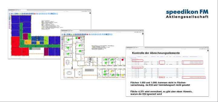 Das Update auf Speedikon C 3.5 bringt zahlreiche Neuerungen, darunter eine Funktion, mit der sich Bilder zu Lageplänen umfunktionieren lassen