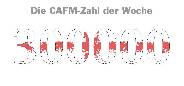 Die CAFM-Zahl der Woche ist die 300.000 – für das Defizit in Euro, mit dem eine politische FM-Entscheidung die Bilanz der Charité belasten wird