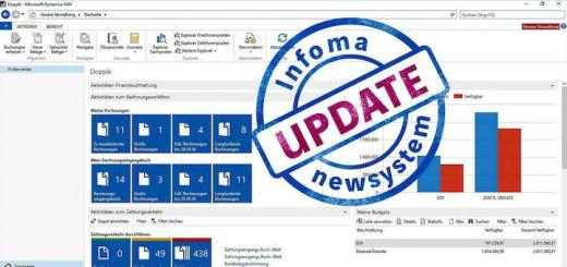 Infoma newsystem Update - Symbolbild